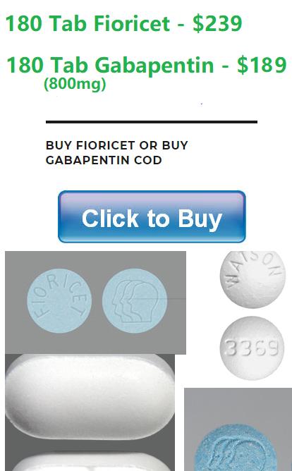Buy Fioricet and Buy Gabapentin Online